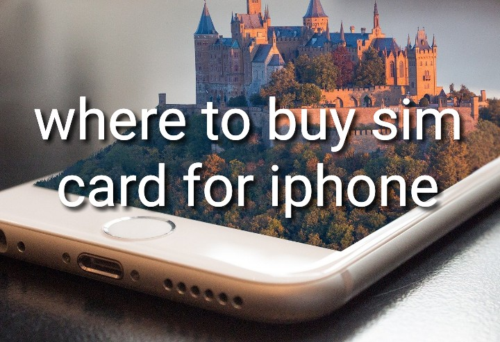 where to buy sim card for iphone