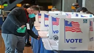 الانتخابات الأمريكية 2020 افتتحت صناديق الاقتراع وسط جائحة فيروس كورونا   موقع عناكب anakeb