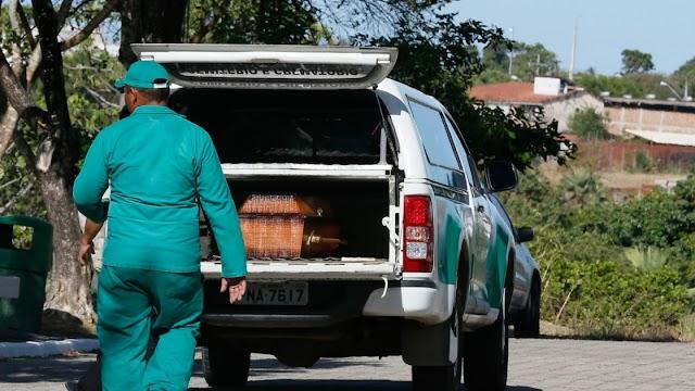 Família de vítima de Covid-19 enterra corpo de outra pessoa após erro de hospital em Fortaleza
