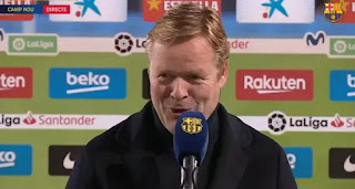 Koeman reveals his team is growing, and are playing better