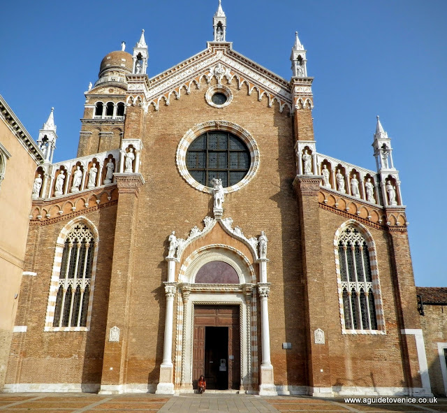The church of Madonna dell'Orto, Venice