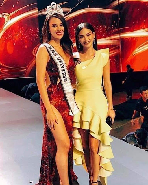 Congratulations, Catriona Gray (Miss Universe 2018)!