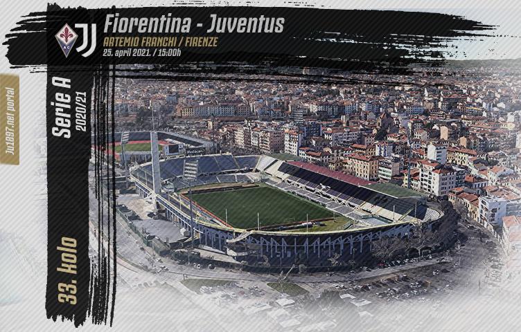 Serie A 2020/21 / 33. kolo / Fiorentina - Juventus, nedelja, 15h