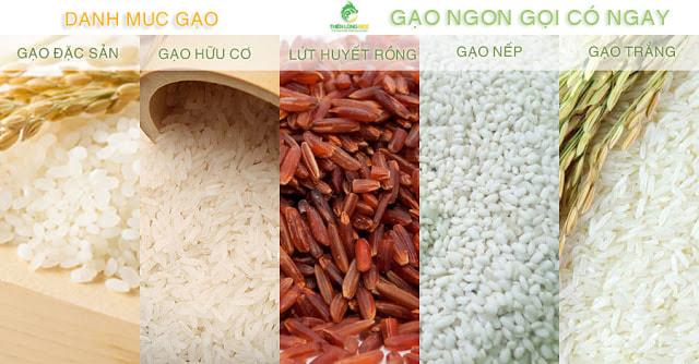 Các loại gạo ngon giao quận 7