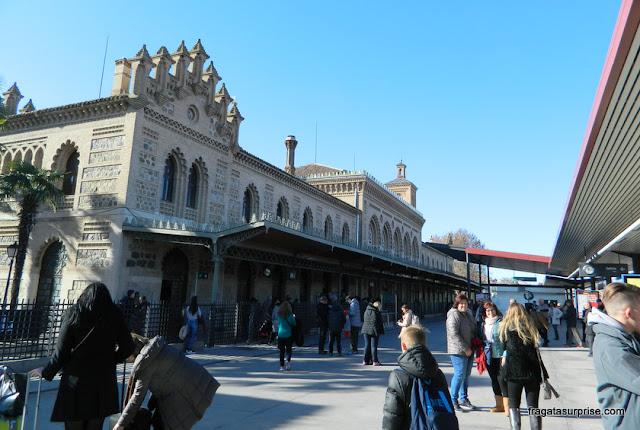 Estação ferroviária de Toledo, Espanha