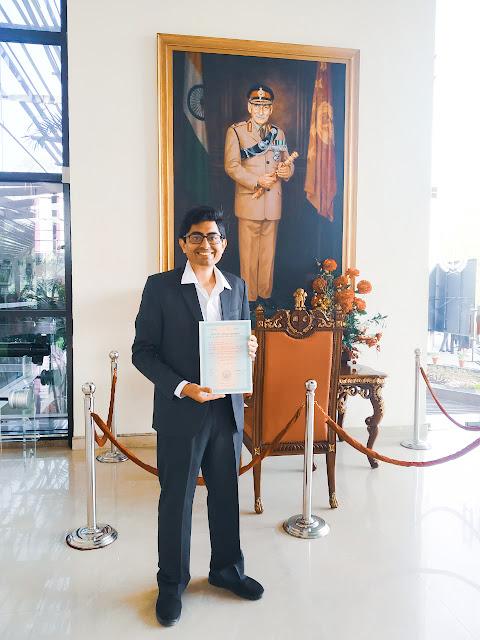 Gaurav Arora at Manekshaw Center
