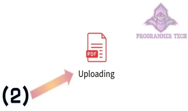 رفع ملف pdf