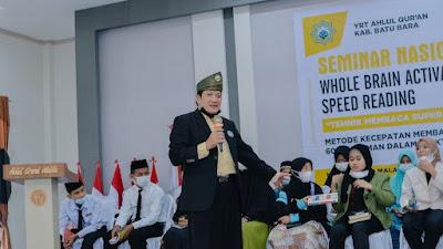 YRT Ahlul Qur'an Batu Bara Gelar Semnas WBA Speed Reading untuk Bekali Penghafal Al-Qur'an