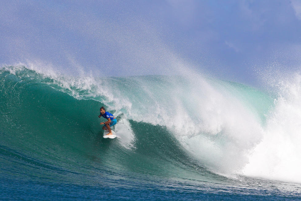 32 Aritz Aranburu ESP 2015 Vans World Cup Fotos WSL Laurent Masurel