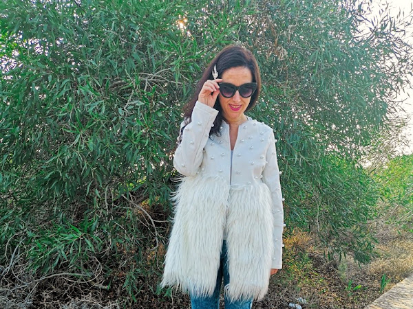 Too early to wear a faux fur coat?