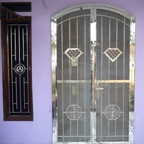 Jasa pembuatan teralis pintu jendela