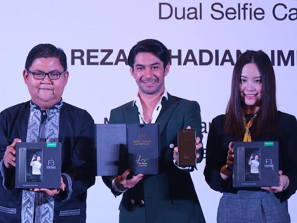 Ini Alasan OPPO Indonesia Memilih Reza Rahadian Untuk F3 Limited Edition!