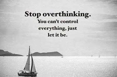 Keep a calm mind