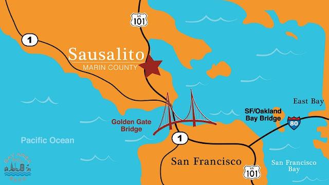 Onde Ficar em Sausalito: Melhores regiões