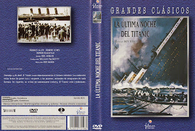 Carátula dvd: La Última noche del Titanic | 1958 | A Night to Remember