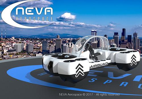 Tinuku.com Neva Aerospace presents AirQuadOne as private VTOL