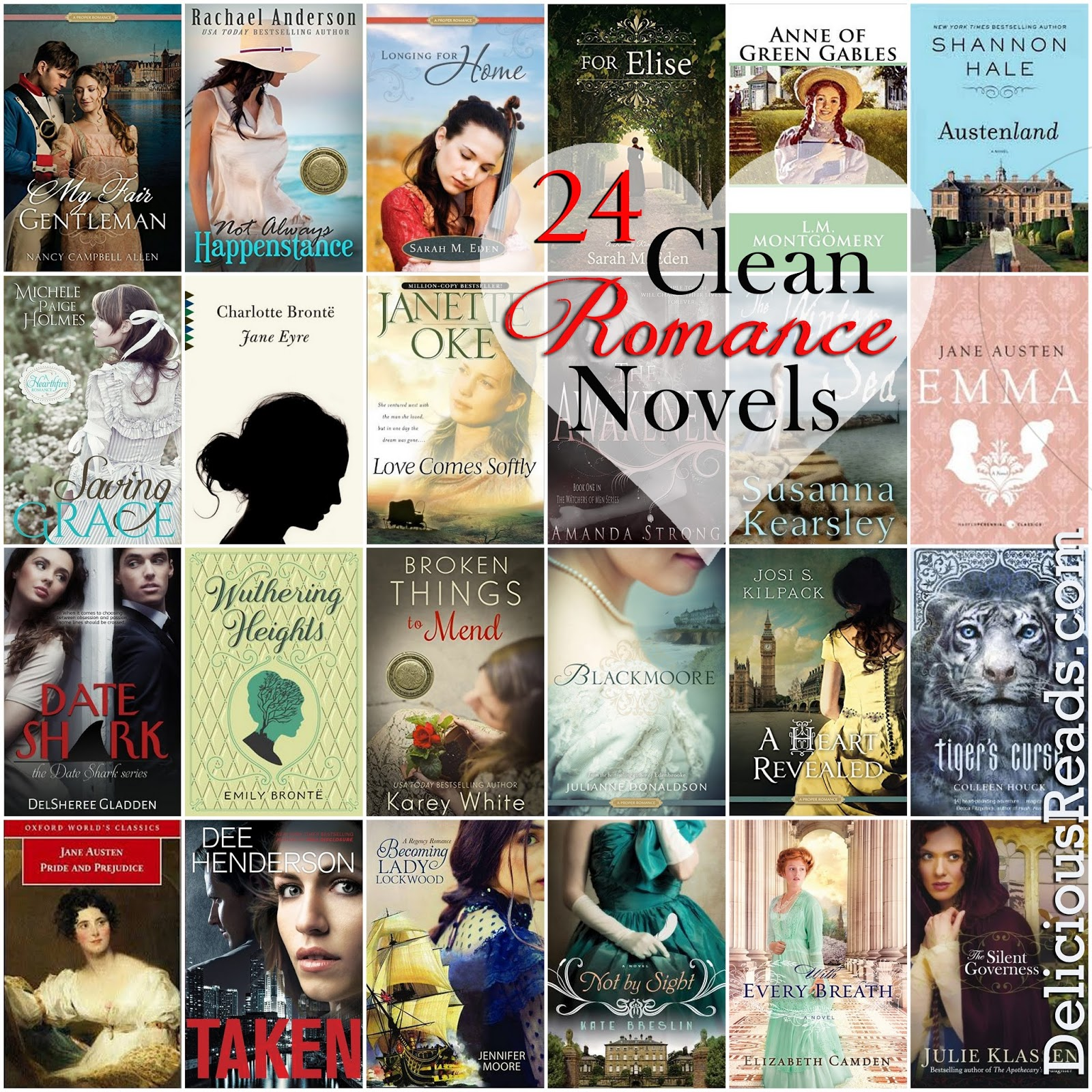 No Sex Books PG Rated Romance Reads