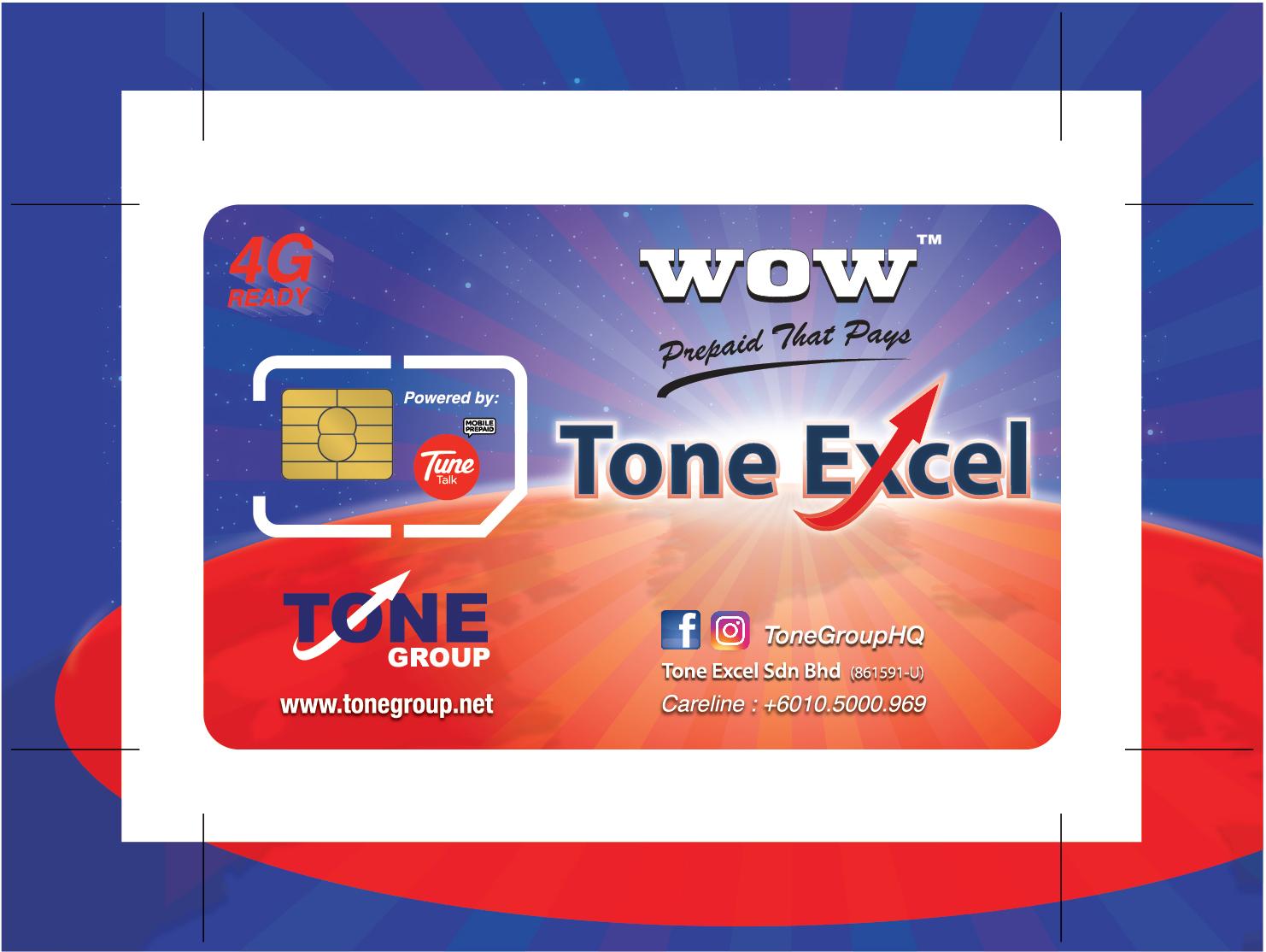 Tone Excel : Prabayar Yang Membayar