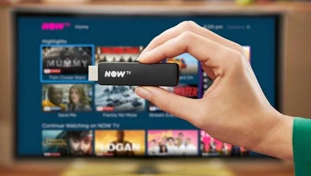 9. Now TV Smart Stick