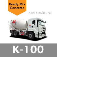 Harga Beton Cor Mutu K-100