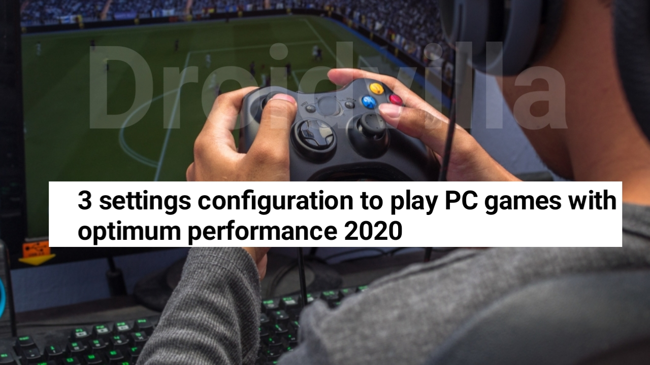 Pc games performance