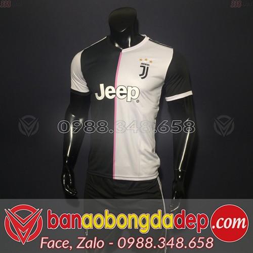 Áo Juventus Trắng 2019 2020 Sân Nhà