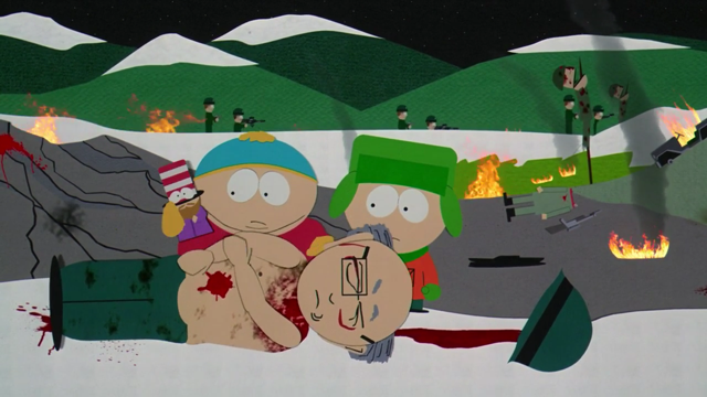 Explosives in South Park: Bigger, Longer and Uncut