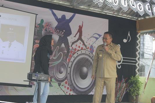 Pradi Supriatna Motivasi Siswa SMP 131 Jakarta