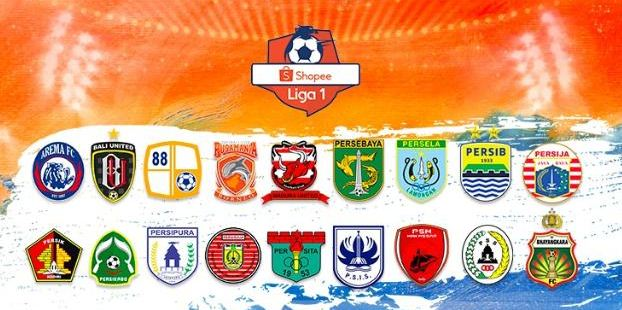 Daftar Logo 18 Klub Liga 1 2020 & Julukannya