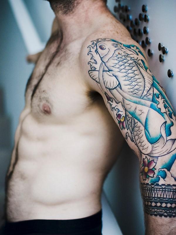 Koi Fishes Tattoo