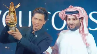 5- Shah Rukh Khan honoured for 'contribution to world's film industry' in Riyadh