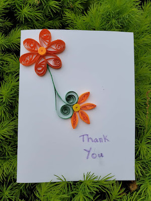 Teacher's Day Quilling Card