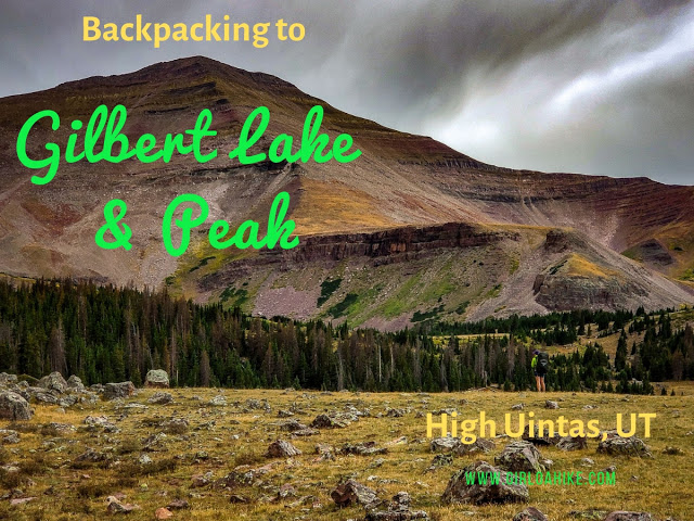 The Best Backpacking Trips in the Uintas, gilbert lake uintas