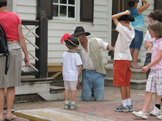 Colonial Williamsburg - a great family experience