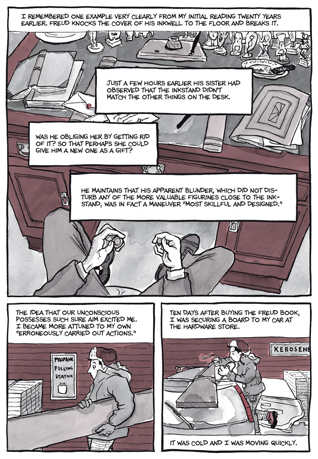 Page 9, Chapter 2: Transitional Objects from Alison Bechdel's graphic novel Are You My Mother