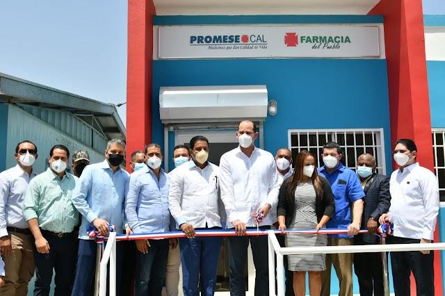 Promese/Cal inaugura en Valverde dos Farmacias del Pueblo
