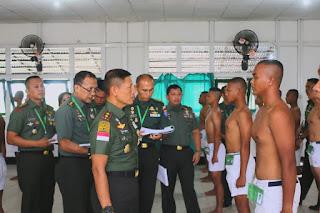 Pangdam XII/Tpr Pimpin Sidang Panlih Tingkat Pusat Caba PK TNI AD TA. 2019
