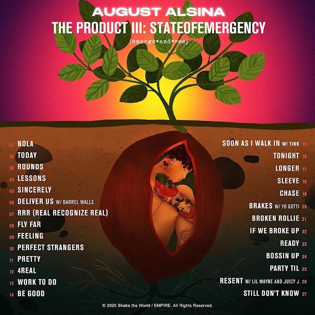 Album Tracklist August Alsina