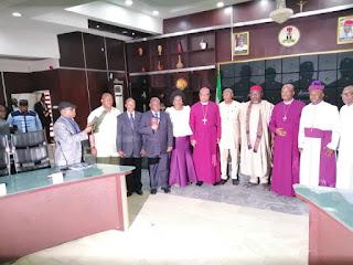 [News] Gov. Rochas Okorocha hands over hospital to The lord's Chosen in Owerri