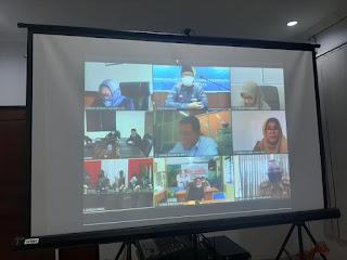 Ketua PTA Palembang Hadiri Rapat Paripurna  XIV (14) DPRD Provinsi Sumatera Selatan Melalui Aplikasi ZOOM Meeting