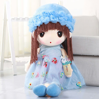 Tas Boneka Metoo Biru Full Body