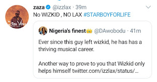 LAX clears fans who accused Wizkid of not helping his career