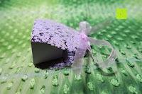 Seite: 50pcs Wedding Candy Boxes Butterfly Laser Cut Kartonage Schachtel Bonboniere Geschenkbox Hochzeit (Purple)