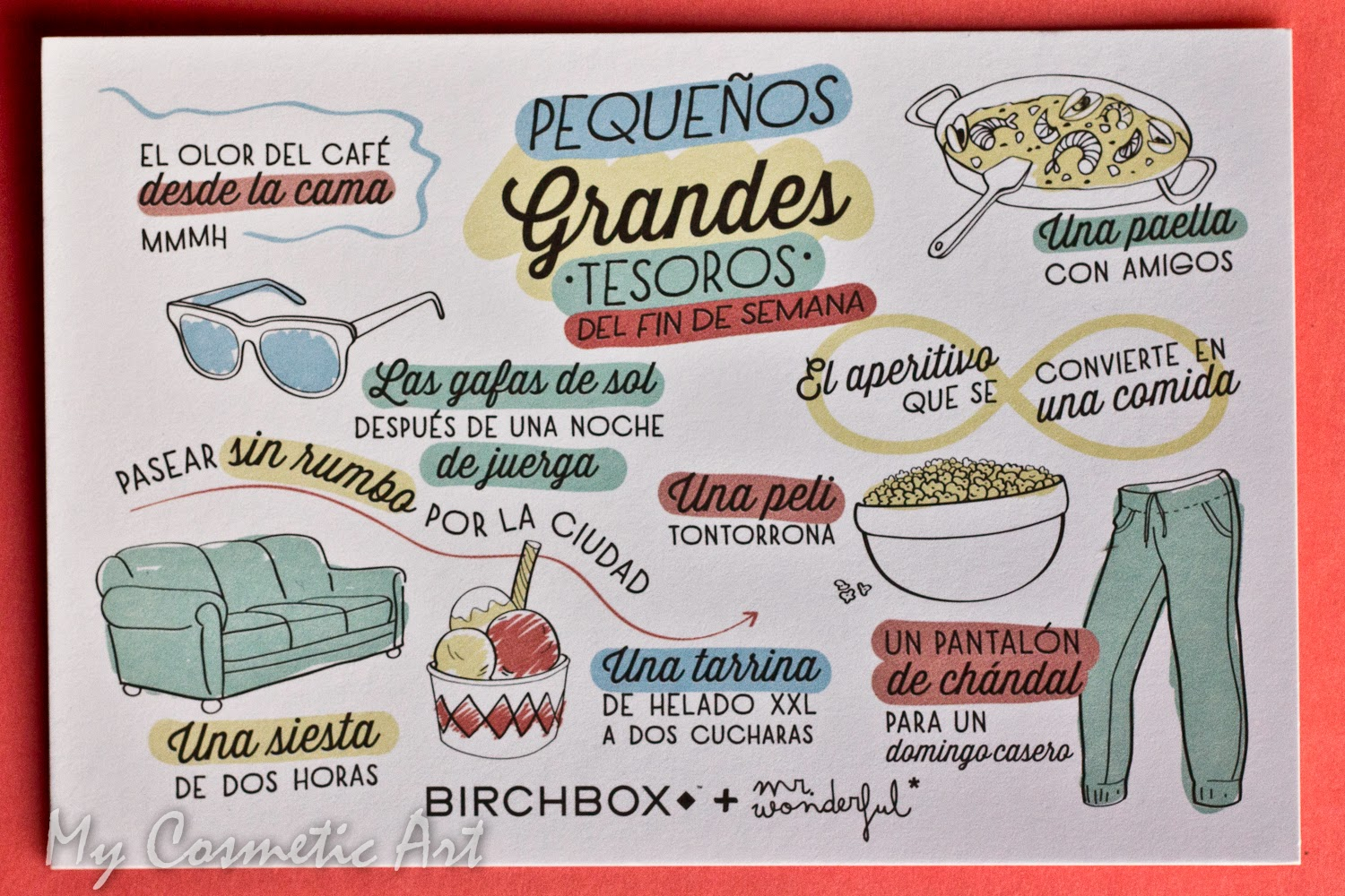 Birchbox Mr Wonderful diciembre 2014