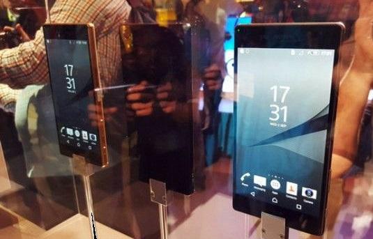 O novo Sony Xperia Z5 Premium tem tela tela 4K e custa R$4.699