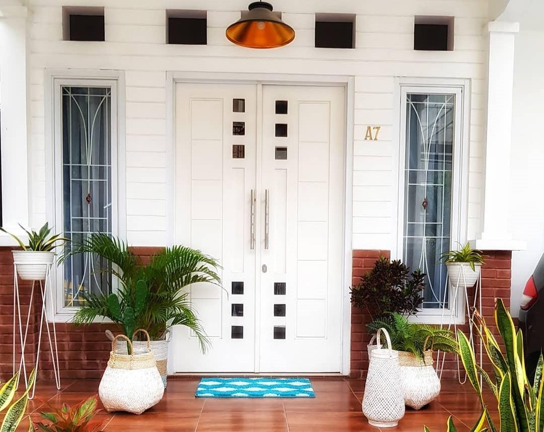model pintu rumah minimalis 2 pintu terbaru 2019