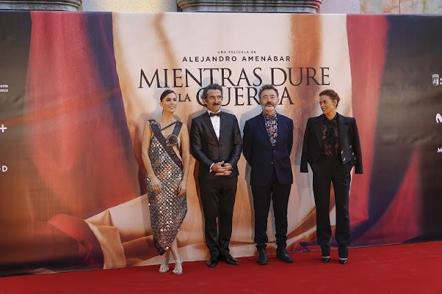 Mireia Rey, Luis Zahera, Santi Prego y Patricia López