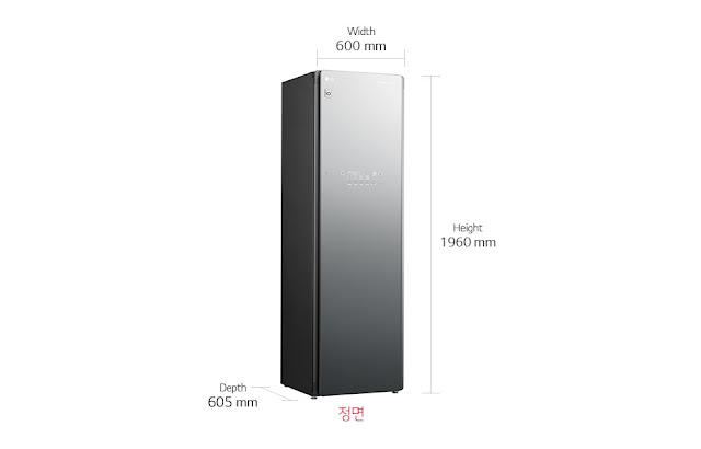THÔNG SỐ KỸ THUẬT LG STYLER OBJECT S5MPC