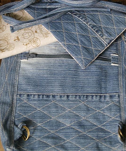 рюкзак, джинсовый рюкзак, сумки ручной работы, сумки из ткани, любимый рюкзачек
