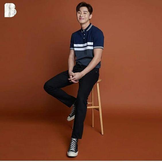 "alt=""Park Seo Joon became the next Bench Endorser"""